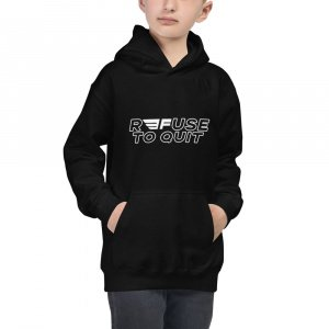 """""""R3FUSE TO QUIT"""" Hoodie (Youth)"""